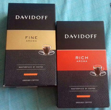 Kawa Davidoff FINE lub RICH palona mielona pakowana prozniowo 250gr