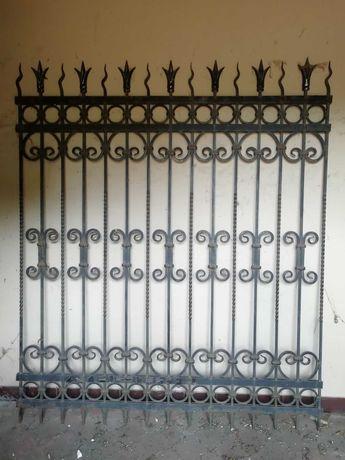 Кований паркан індивідуальне замовлення .кованый забор.довжина 32 м.п.
