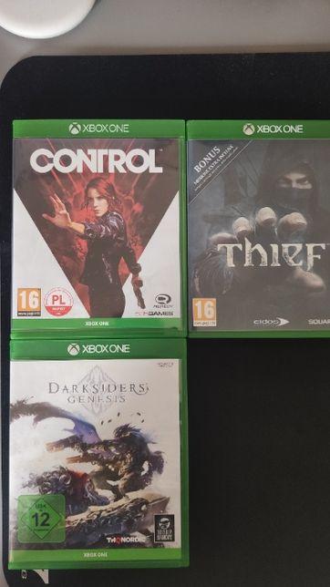 Darksiders Genesis, Control, Thief, zestaw Xbox One