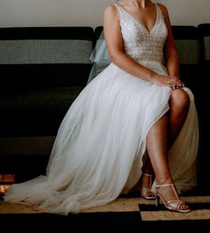 Suknia ślubna Justin Alexander Sincerity model 44120 SPRZEDAM !!