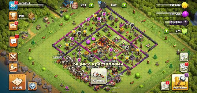 Аккаунт Clash of clans, 10 тх