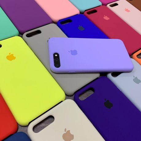 Силиконовый чехол Silicone Case для Apple iPhone 6 плюс 6s 7 8 plus XR