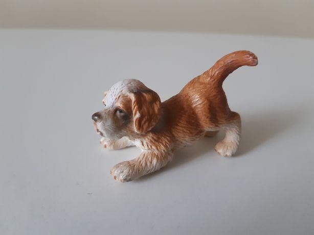 Schleich pies bernardyn szczenię unikat figurka wycofana z 2005 r.