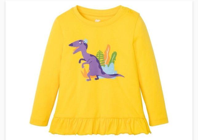 Lupilu 98/104 nowa bluzka z dinozaurem
