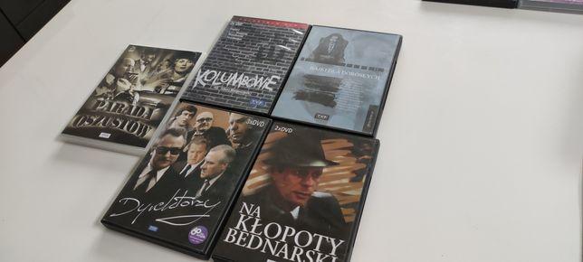 Polskie filmy DVD zestaw Bajki dla dorosłych Dyrekorzy Kolumbowie