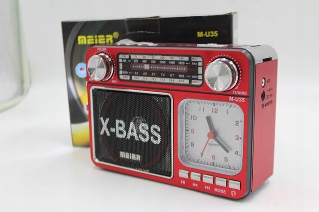 RADIO FM BUDOWLANE z akumulatorem na USB AUX SD MP3 okazja