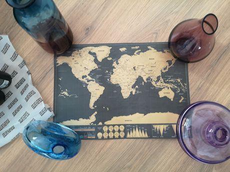 Vendo poster mapa mundo para raspar novo