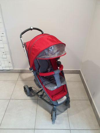 Wózek spacerowy Espiro Magic czerwony/szary. Wysyłka kurierem