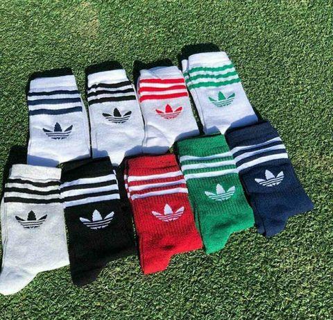 Высокие носки Adidas Nike оптом Адидас