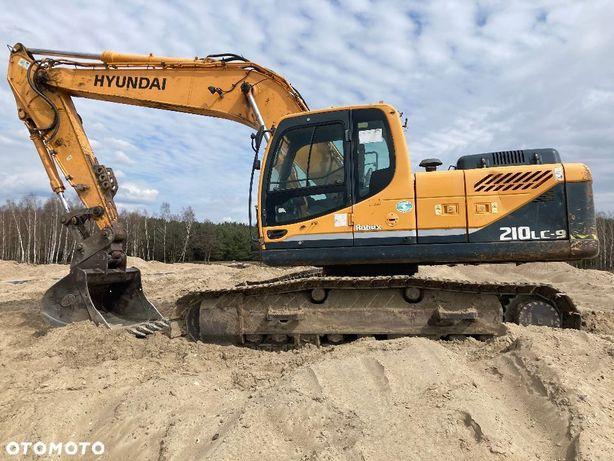 Hyundai 210  Sprzedam koparkę gąsienicową Hyunday 210 stan dobry waga ok. 22t.