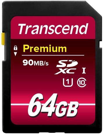 Karta pamięci Transcend 64 GB SDXC / SDHC