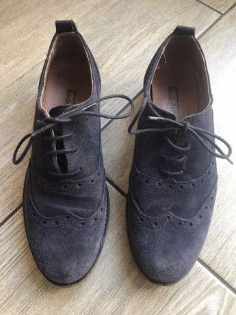 Sapatos camurça T36