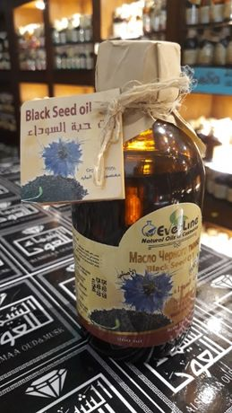 200 мл. Масло черного тмина из Египта натуральное холодного отжима