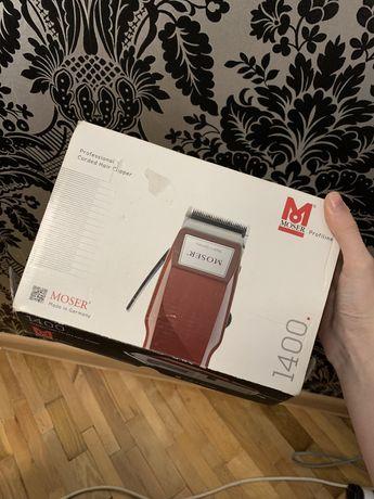 Машинка для стрижки волос MOSER 1400-0278 бордовая на запчасти