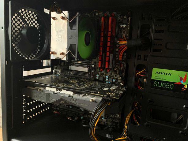 Игровой компьютер AMD FX-8320/16GB DDR3-1600/RX 570 4GB/SSD120GB/600W