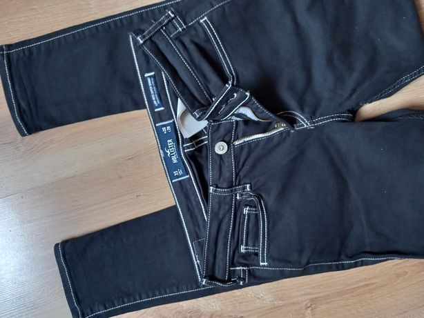 Spodnie jeans Hollister rurki damskie / S