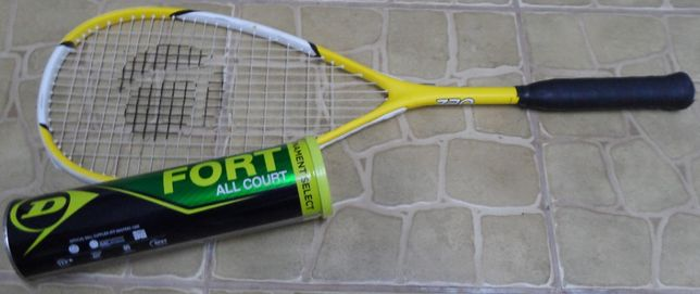 Rakieta do tenisa z piłkami