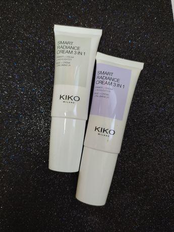 Крем 3 в 1 Kiko Milano Smart Radiance Cream праймер хайлайтер Кико