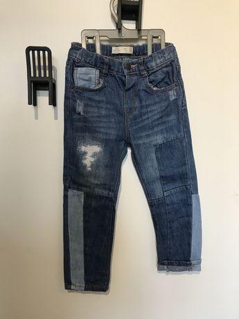 Spodnie jeansy Zara 104/98