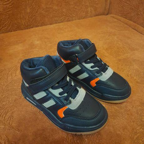 Хайтопы,утепленные кроссовки для мальчика