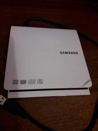Внешний привод DVD-RW SAMSUNG SE-208DB USB 3.0 White