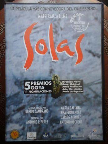 Filme espanhol SOLAS - DVD Cinem Espanhol
