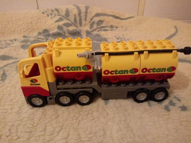 Lego duplo cieżarówka tir z naczepą octan