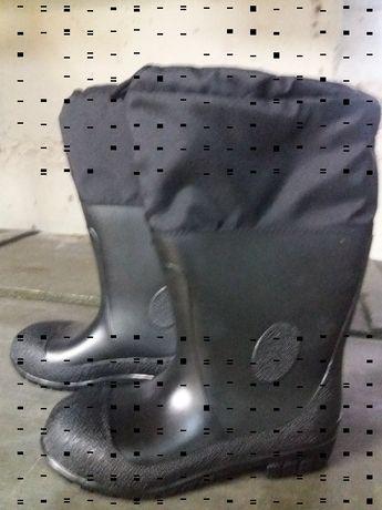 Kalosze gumowce buty gumowe ze ściągaczem 41/42