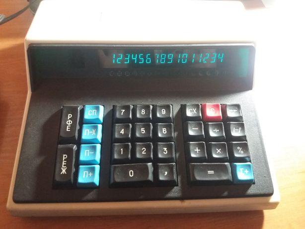 Микрокалькулятор Электроника МК 59 советский ссср идеальное состояние