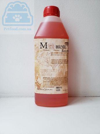 Лососевое масло для собак и кошек Mobioil