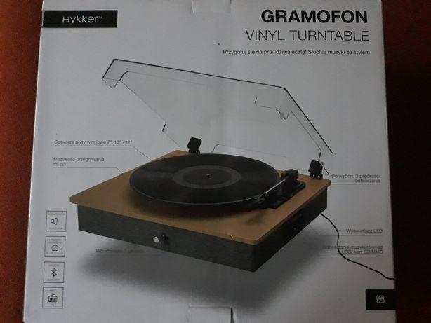 Gramofon Hykker nowy idealny na  Dzień ojca prezent