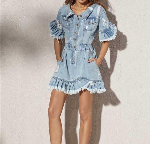 Sukienka lou dżinsowa jeansowa