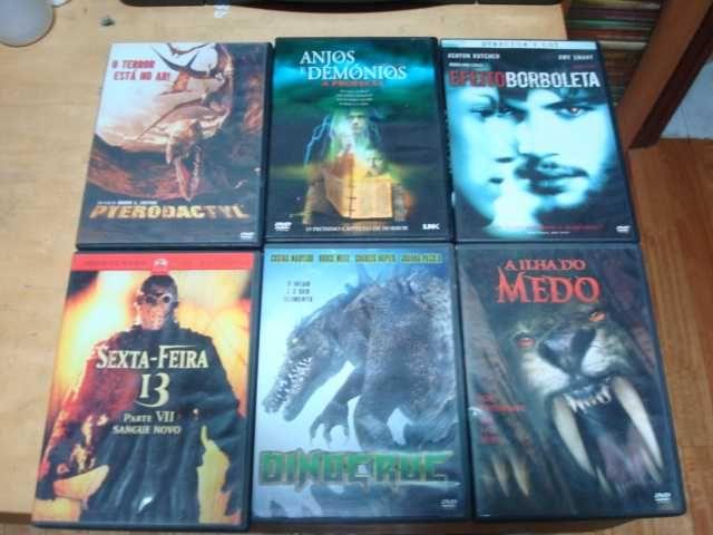 lote 20 dvds terror originais