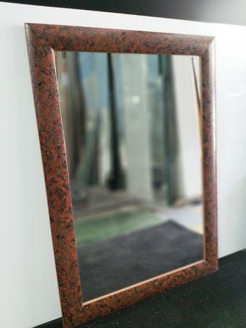 """Lustro w drewnianej ramie """"Africa"""" 70x100"""