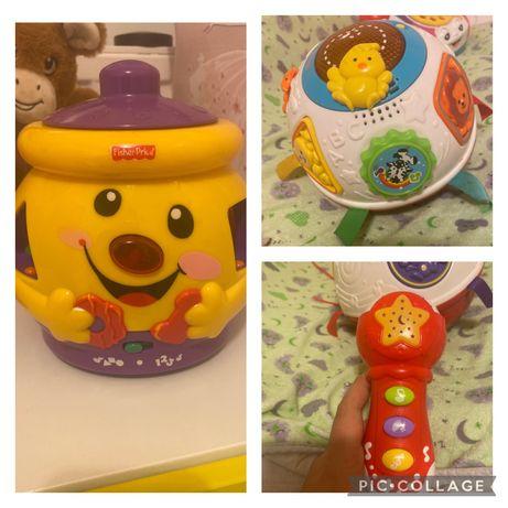 Zestaw interaktywnych zabawek