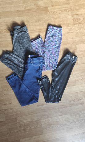 Zestaw ciuchów ubrań dla dziewczynki 134 140
