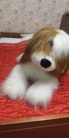 Собака ,большая мягкая игрушка