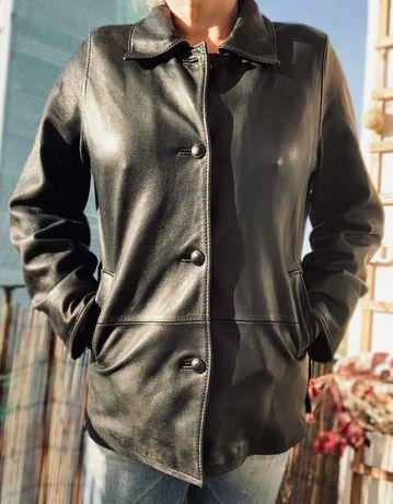 Damska kurtka,żakiet r:44 XXL skóra-vintage 90 lata