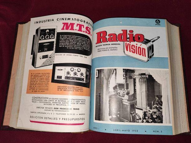 Revista técnica mensal Radio Vision