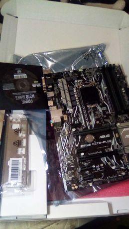 Материнская плата Intel LGA 1151 Asus PRIME H270-PLUS нерабочая