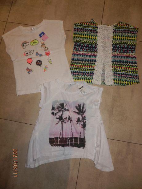 Ubranie dla dziewczynki rozm.122 cz3