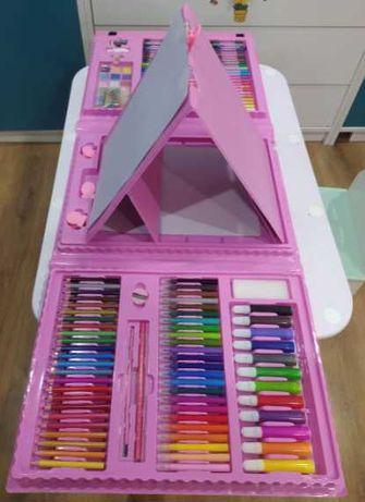 Набор для рисования и творчества детский в чемодане 208 предметов