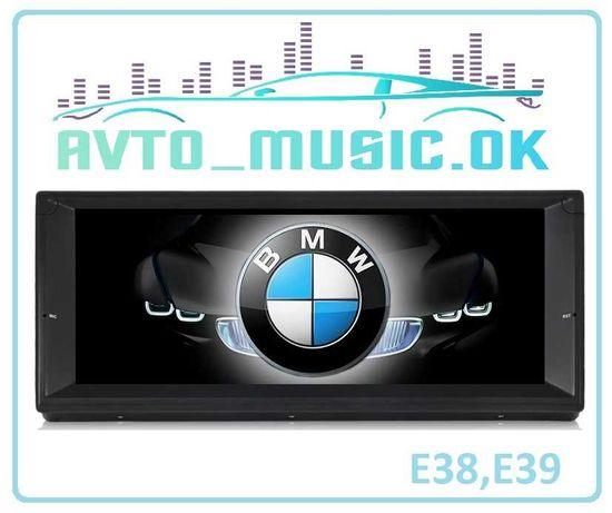 Магнитола BMW e39, е53 Android 10 RAM 2Gb, GPS, USB, DSP!!!