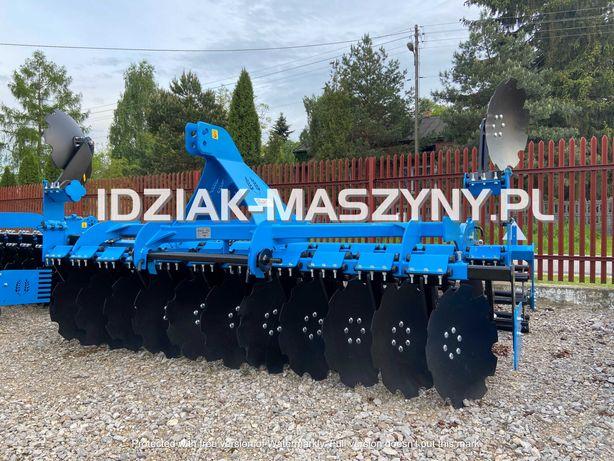 Brona talerzowa SZYM-ROL 3m nowa 2021 transport brona agregat