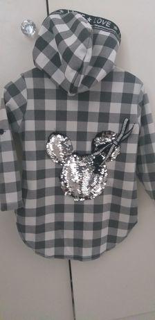 Bluza koszula myszka miki