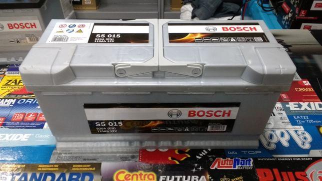 Akumulator Bosch S5015 12V 110Ah 920A I1 P+ dowóz montaż Kraków Azory
