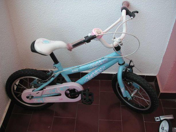Bicicleta Berg Criança e Rodas Apoio Oxylane  (NOVA)