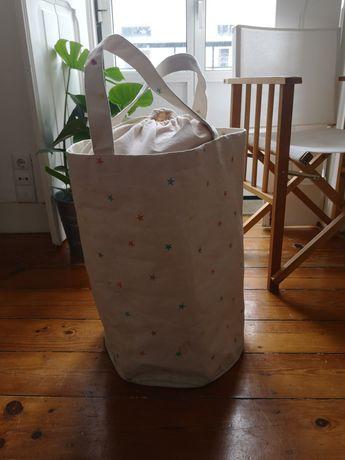 Saco de roupa suja Zara home