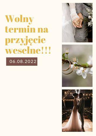 Wolny termin na salę weselną 2022 r. Okolice Gorlic