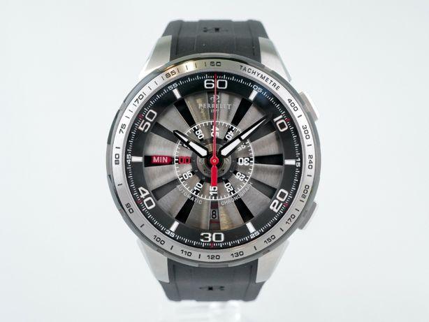 Мужские новые часы Perrelet Turbine Chrongraph 47 мм